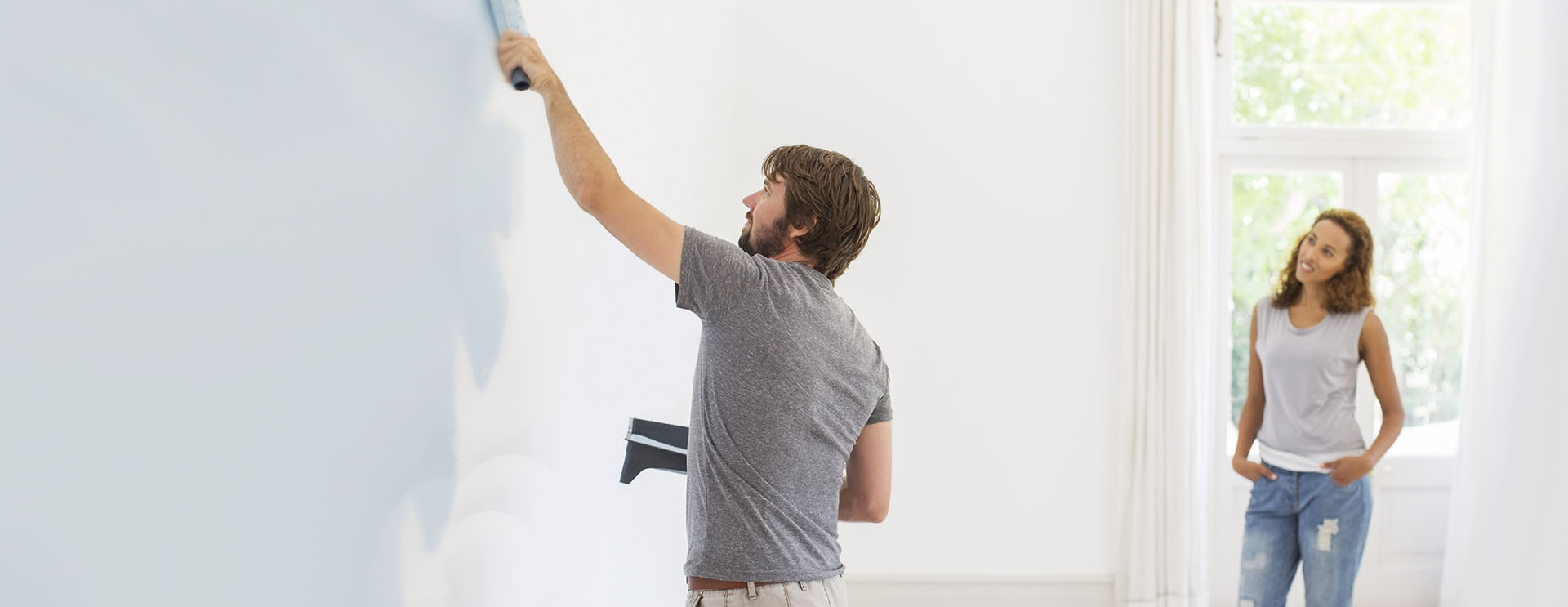 mark rogers decorating domestic painting and decorating Leicester